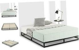 "Mellow Low Profile 6"" Metal Platform Bed Frame Type w/Classi"
