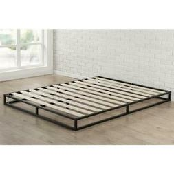 Low Profile Bed Frame Joseph Modern Studio 6 Inch Platforma,