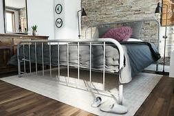 RealRooms Luana Metal Bed Frame, Multiple Colors, TWIN FULL