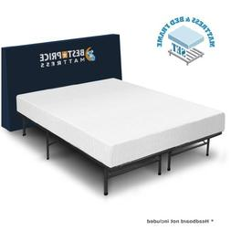 Luxtouch 8 Comfort Premium Memory Foam Mattress and Bed Fram