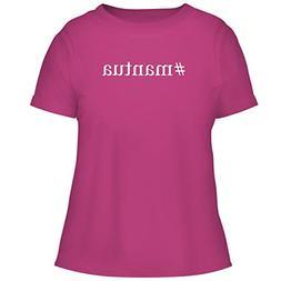 BH Cool Designs #Mantua - Cute Women's Graphic Tee, Fuchsia,