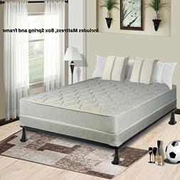 Continental Mattress, 9-Inch Fully Assembled Gentle Firm Ort