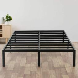 Mattress Foundation Bed Frame Heavy Duty Steel Slat King Siz