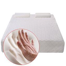 Giantex Mattress 12-Inch Gel Memory Foam Mattress Bed W/2 Co