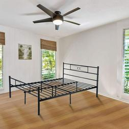 GIME Metal Bed Frame Full Size, Yanni 10 Legs Mattress Found