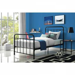 Metal Bed Frame Headboard Footboard Child Bedroom Furniture