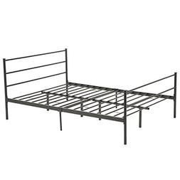 Mecor Reinforced Metal Bed Frame Full Size Platform with Hea