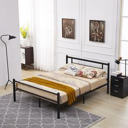 Mcombo Metal Bed Fream Metal Platform Bed Twin Full Queen si