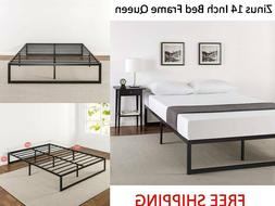 Zinus Abel 14 Inch Metal Platform Bed Frame with Steel Slat