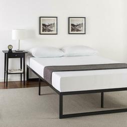 METAL PLATFORM BED FRAME Zinus Abel 14 Inch FOUNDATION w/Ste