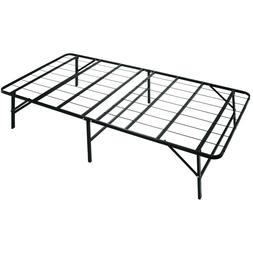 Metal Platform Bed Frame Box Spring Replacement Mattress Fou
