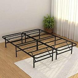 """Metal Platform Bed Frame Queen Black Kitchen """" Dining"""