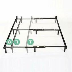 Zinus Michelle Compack Adjustable Steel Bed Frame for Box Sp