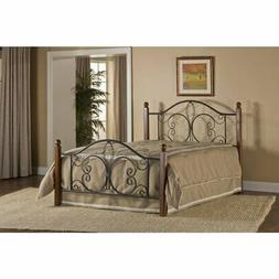 Milwaukee Wood Post Bed - King - Bed Frame Not Included