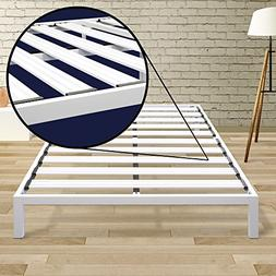 Best Price Mattress Twin Bed Frame - 14 Inch Metal Platform