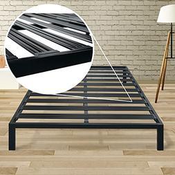 Best Price Mattress Twin Bed Frame - 14 Inch Metal Platform