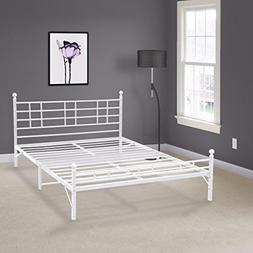 Best Price Mattress Model H Easy Set-up Steel Bed Frame, Ful