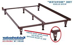 Model KB2007G - Heavy Duty Metal Bed Frame w/Glides ONLY - K