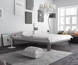 In Style Furnishings Contemporary Low Profile Lunar Platform