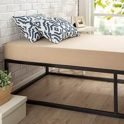 Zinus Joseph Modern Studio 14 Inch Platforma Bed Frame / Mat