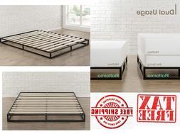 Modern Studio Platforma Low Profile Bed Frame Mattress Found