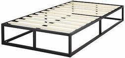 Zinus Modern Studio Platforma Low Profile Bed Frame Foundati