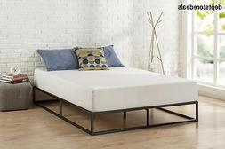 Low Profile Bed Frame Mattress Foundation For Home Bedroom F