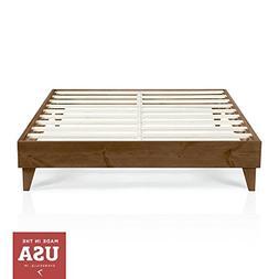 Cardinal & Crest Wood Platform Bed Frame | Twin Size | Moder