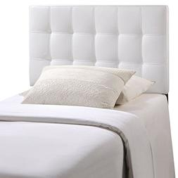 Modway Lily Twin Vinyl Headboard, Multiple Colors