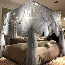 Joyreap Mosquito Bed Canopy Net - Luxury Canopy netting - 4