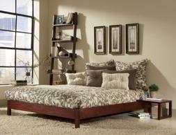Fashion Bed Group Murray Platform Bed Mahogany
