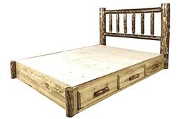 Montana Woodworks MWGCSBPK Glacier Country Collection King P