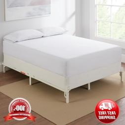 New Beautiful Adjustable Size Bed Frame 7 Inch Durable Heavy