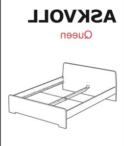 New Hardware Set Replacement parts for IKEA ASKVOLL Full or