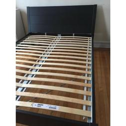 nordli queen bed frame black