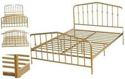 Novogratz Bushwick Metal Bed, Modern Design, Full Size - Ful