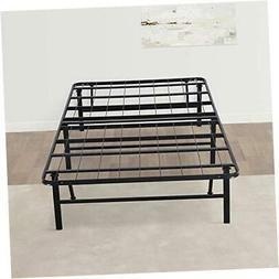 Olee Sleep 14 Inch Foldable Dura Metal Platform Bed Frame, T