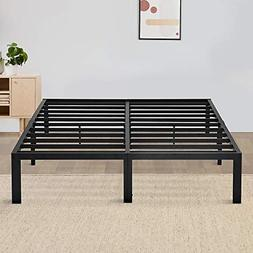 Olee Sleep 14in Tall T-2000 Round Edge Steel Slat Bed Frame