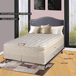"Continental Sleep 10"" Pillowtop Fully Assembled Othopedic Qu"