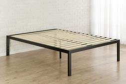 Platform Bed Frame 18 Inch Mattress Foundation with Wooden S