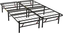 AmazonBasics Platform Bed Frame - Foldable, Under-Bed Storag