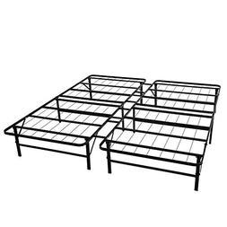 Leisuit Platform Bed Frame Base - Black Finish Bedroom Furni