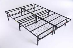"PLATFORM BED FRAME CALIFORNIA KING SIZE 14"" Foldable High Pr"