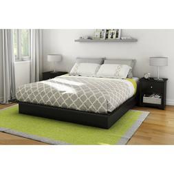 Platform Bed Frame Full Queen King Size Sizes Bedroom South