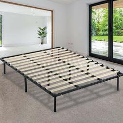 Platform Bed Frame Mattress Foundation Full Size Metal Bed B