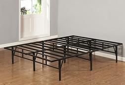 Kings Brand Furniture King Size Platform Bed Frame Mattress