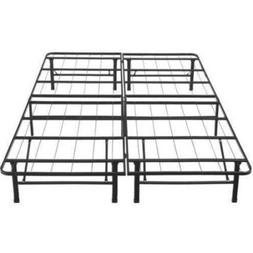 Platform Bed Frame Queen Size Mattress Foundation Base Metal