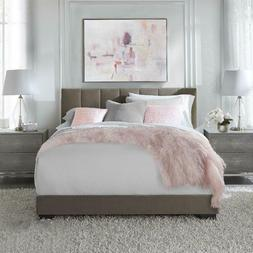 Platform Bed Frame Upholstered Headboard Mattress Foundation