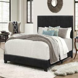 Platform Bed Frame With Headboard King Size Upholstered Beds