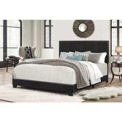 Platform Bed Frame With Headboard Upholstered Beds Wood Fram